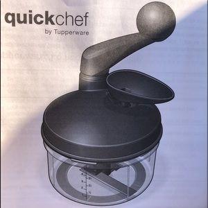 Tupperware Quick Chef Chopper New
